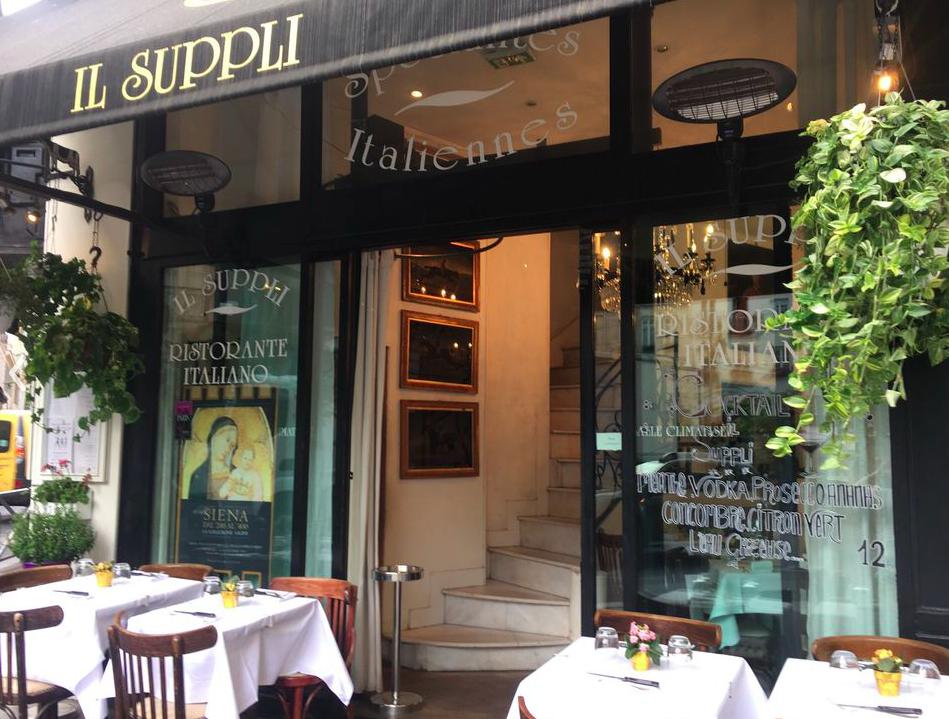 法國巴黎餐廳—Il Suppli 外觀 photo by yelp.com