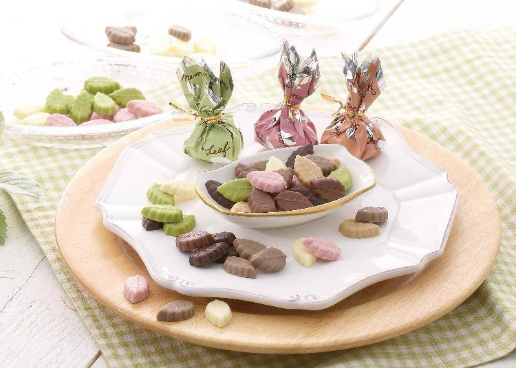 ▲「Leaf memory 禮盒包裝(15個裝)」1,080日元(含稅)