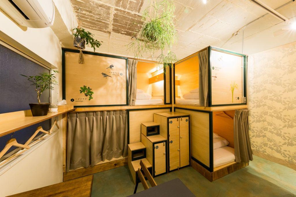 『淺草』設計感住宿「Guest House DENCHI」與藝術、在地味共枕眠