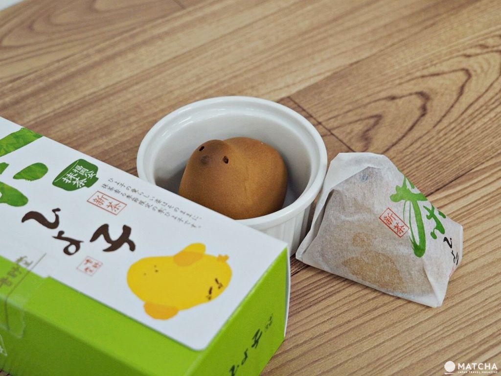吉野堂:茶小雞饅頭