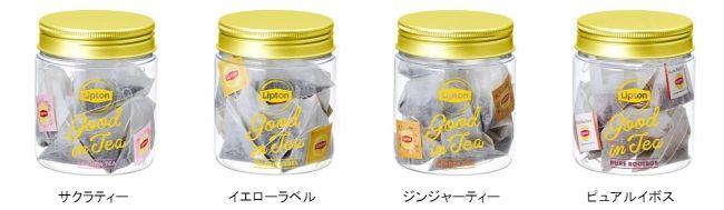 Lipton Good in Tea 綜合水果茶4
