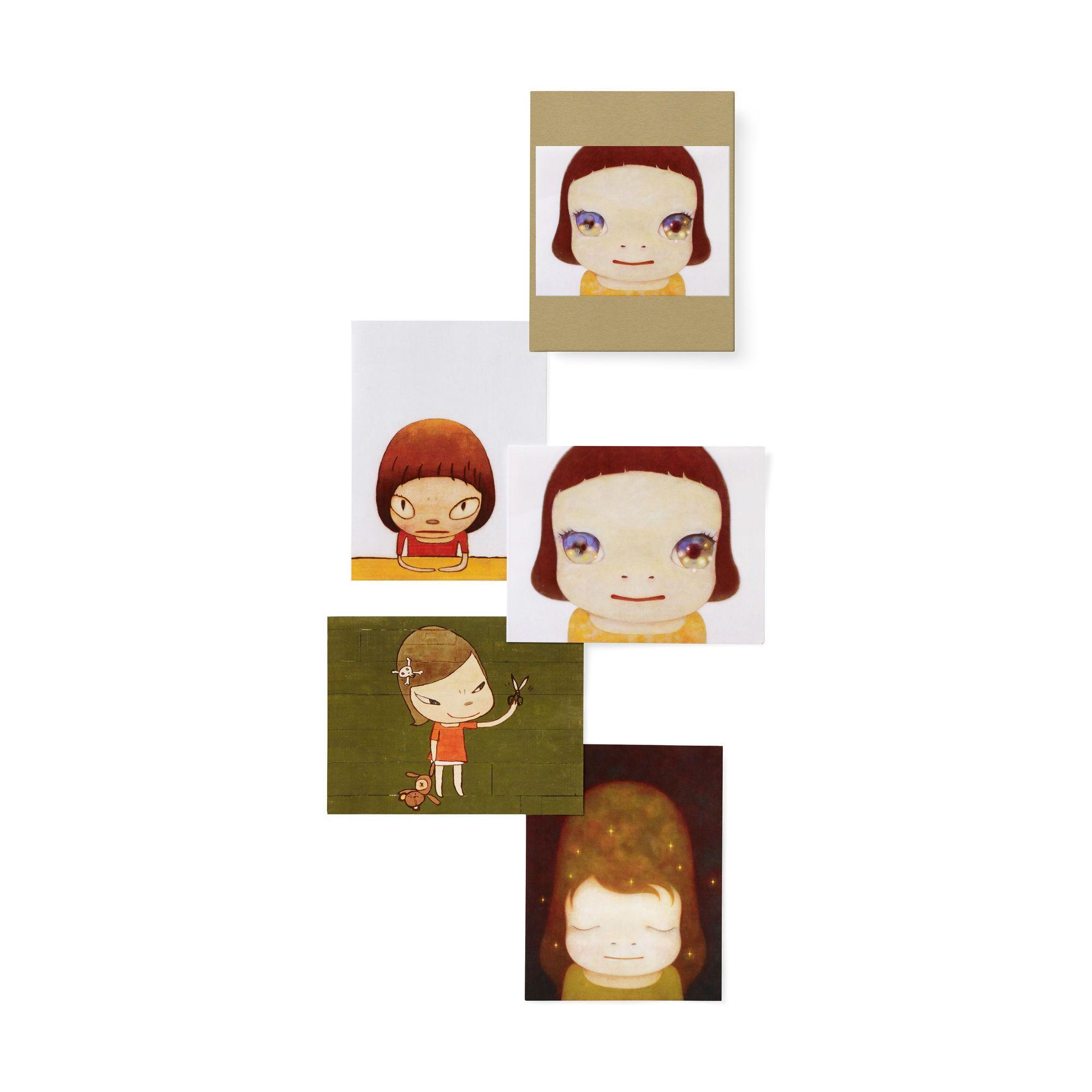 奈良美智MOMA 卡片組