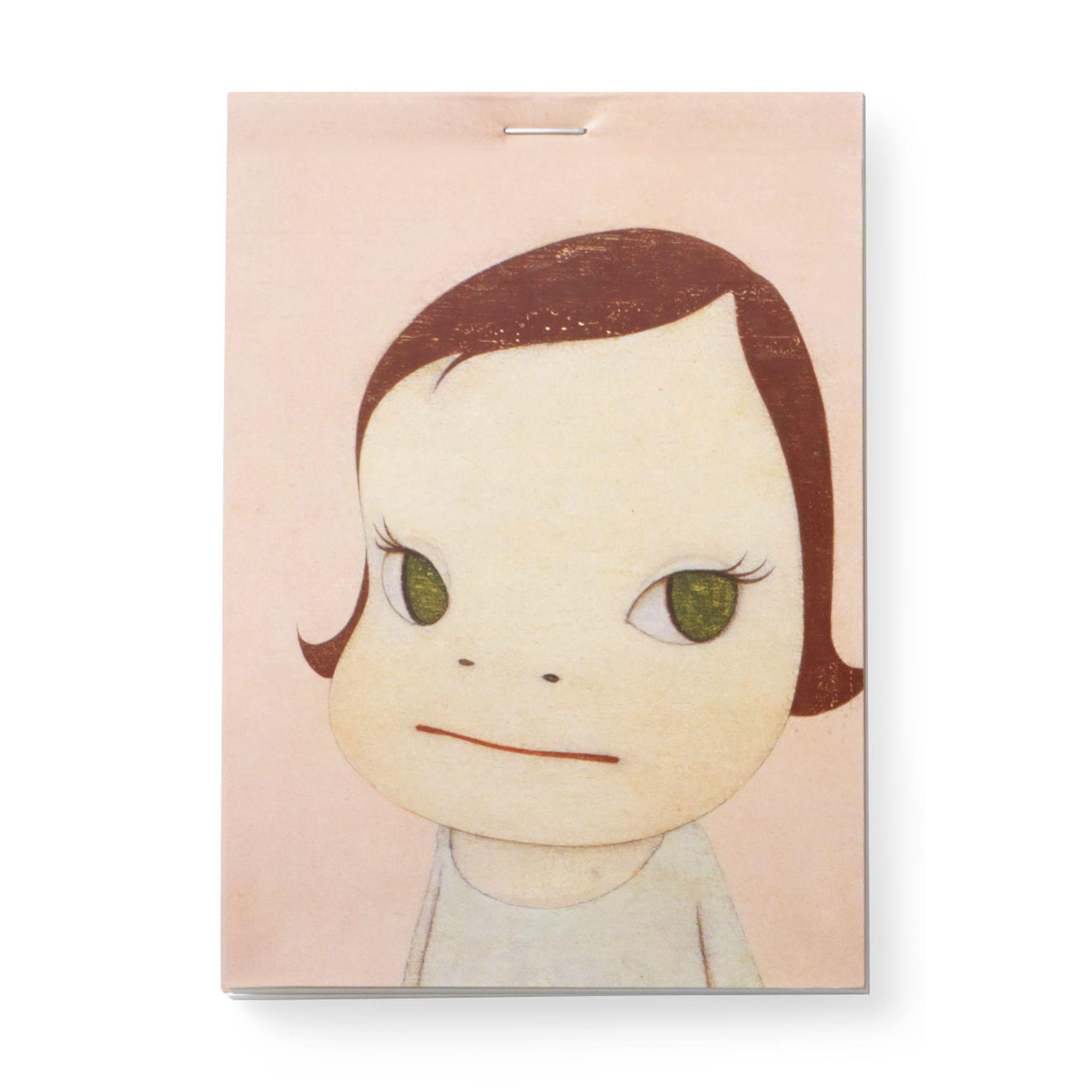 奈良美智MOMA 文具紙條本