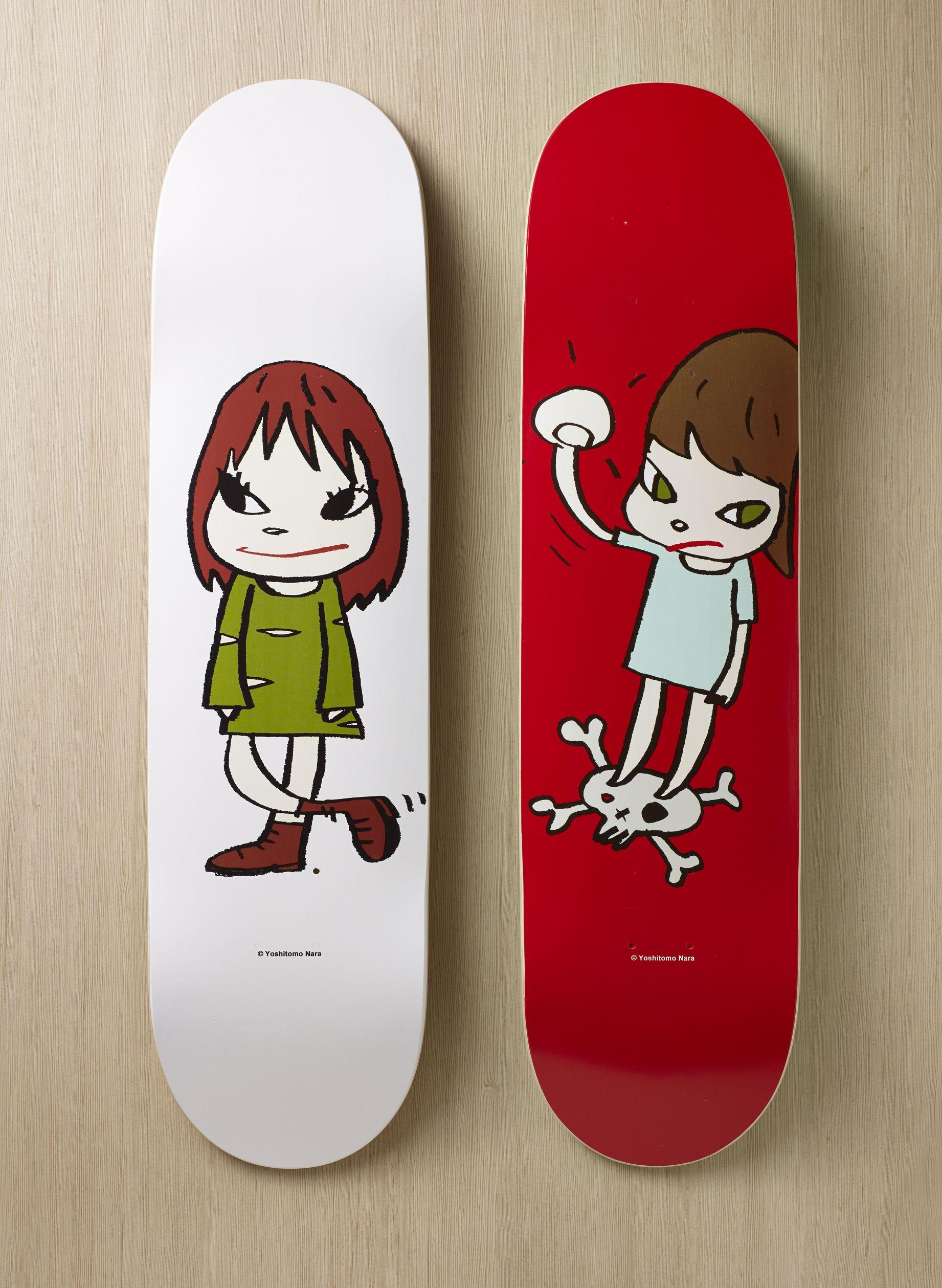 奈良美智MOMA滑板