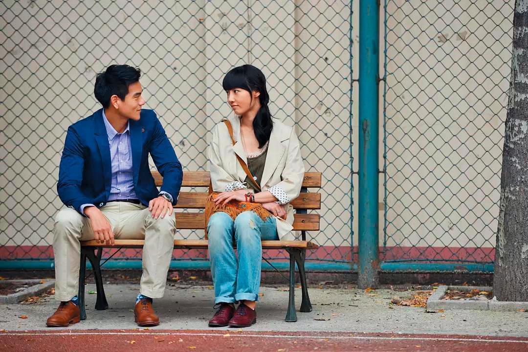 彭于晏(左)、白百何主演的《分手合約》,是韓國CJ娛樂首部在大陸開發投資製作的電影。(翻攝自豆瓣)