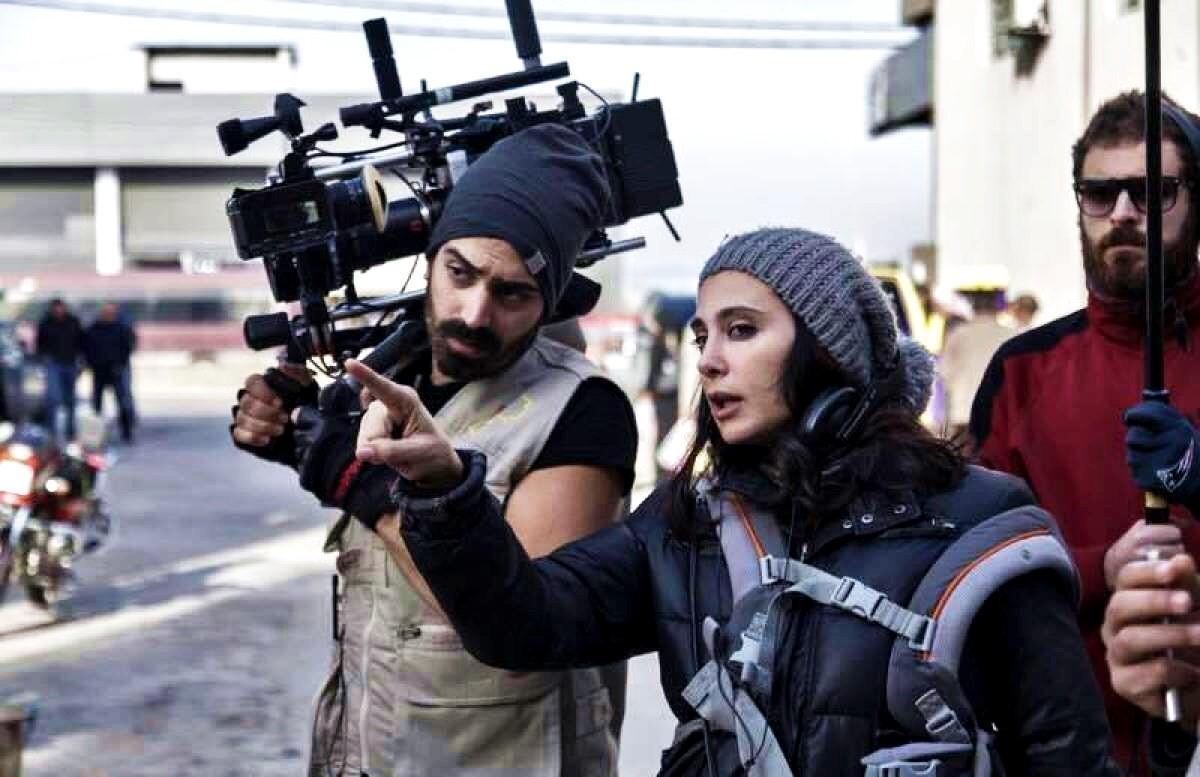 黎巴嫩導演娜迪拉巴基在貧民窟拍攝《我想有個家》時,片場曾發生搶案,她視為做善事。(海鵬提供)