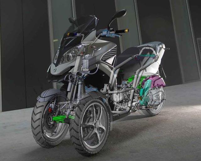 3D-350 車輛結構圖。