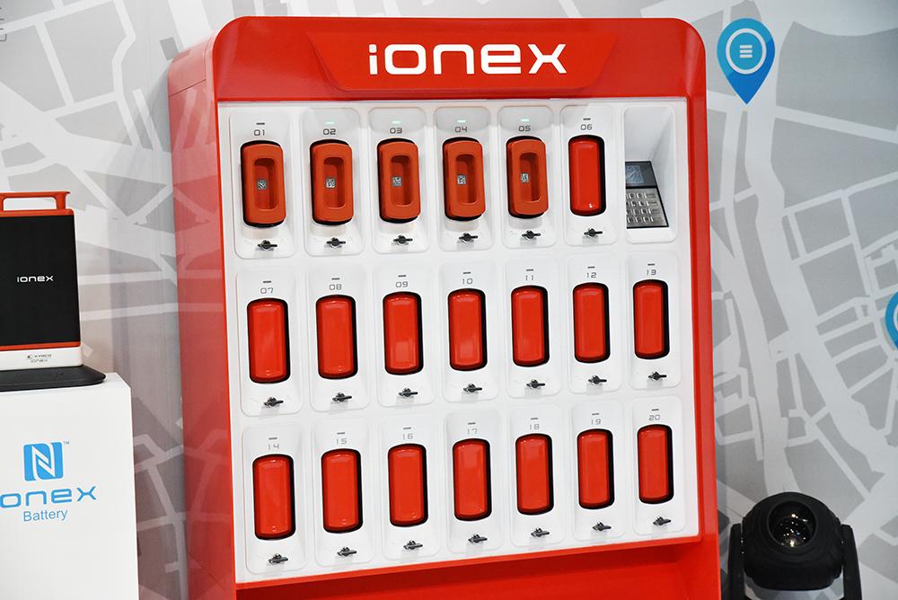 除了在充電與交換電池外,IONEX開創了全新架構。