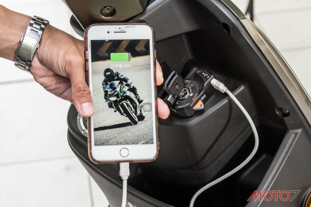 KYMCO認為電動車就跟手機一樣需要天天補充電力。