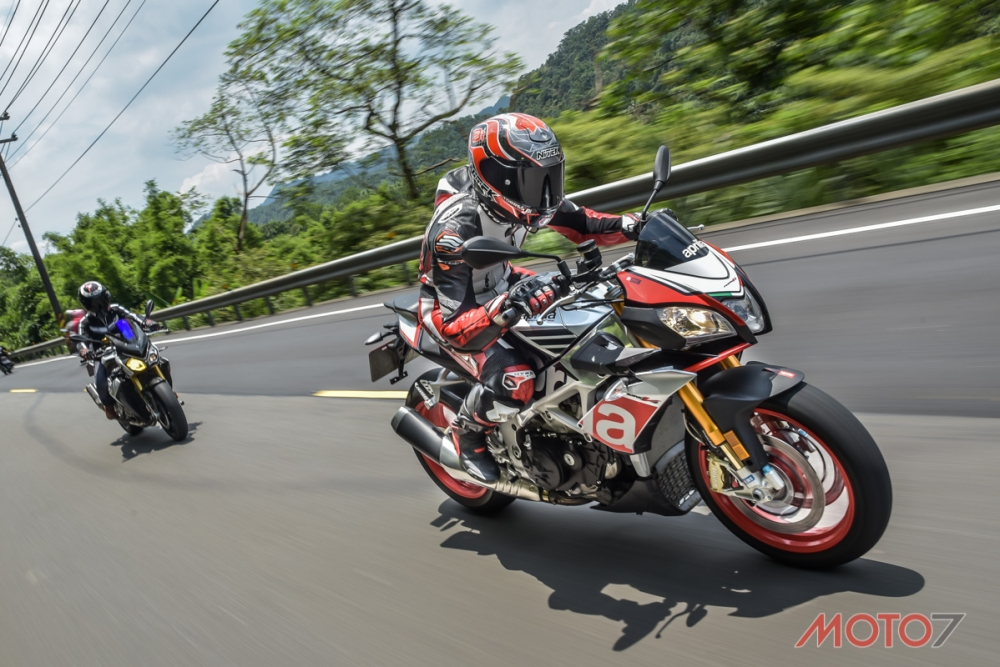 感性與理性: APRILIA Tuono Factory vs BMW S1000R