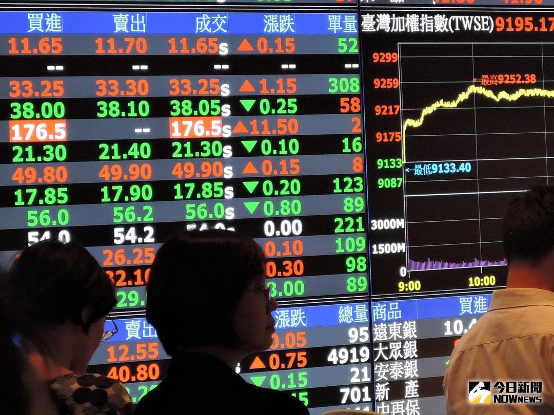 ▲台北股市4月26日開盤則漲23.11點,加權股價指數以10583.08點開出。各類股部分,早盤電子漲0.3%、金融漲0.07%。(圖/NOWnews 資料照片)