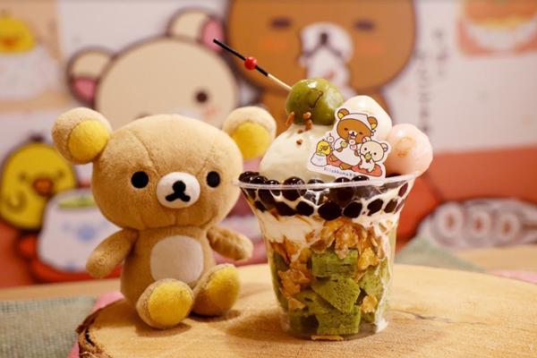 拉拉熊限定百匯,120元 (圖/Rilakkuma Cha-Ya 拉拉熊茶屋,以下同)