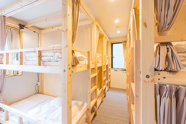 淺草北&AND HOSTEL Dormitory房型
