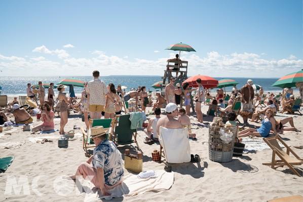 康尼島有美麗的沙灘海景風光。(圖/甲上娛樂)
