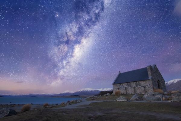 蒂卡波湖是著名的觀星地點。(圖片來源/locationscout)