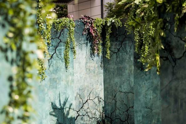 迷宮內部場景細節受到網友好評,可在這裡拍出個人風格的照片。(圖/三創生活園區)
