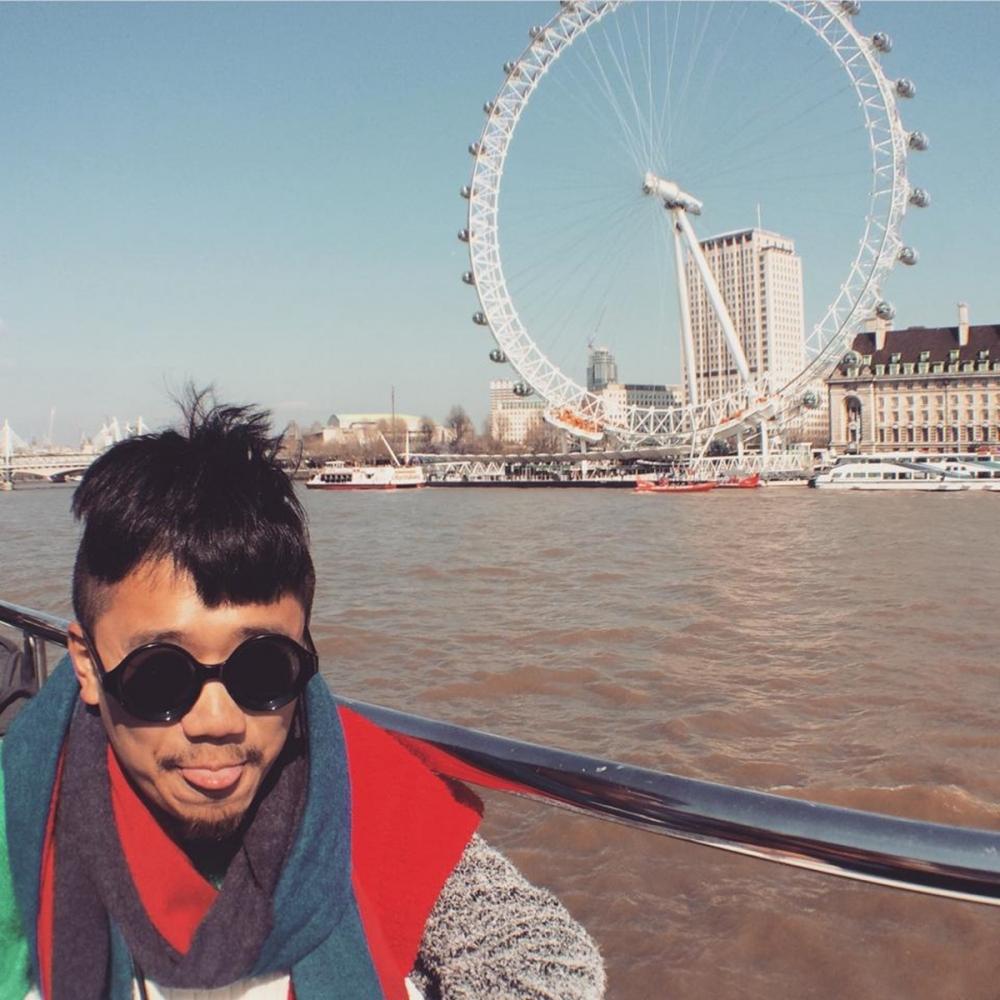 知名地標倫敦眼,不可不拍的觀光景點。