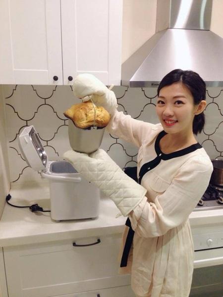 卸下主播光環,戴心怡現在努力經營家庭生活。擷取自戴心怡臉書