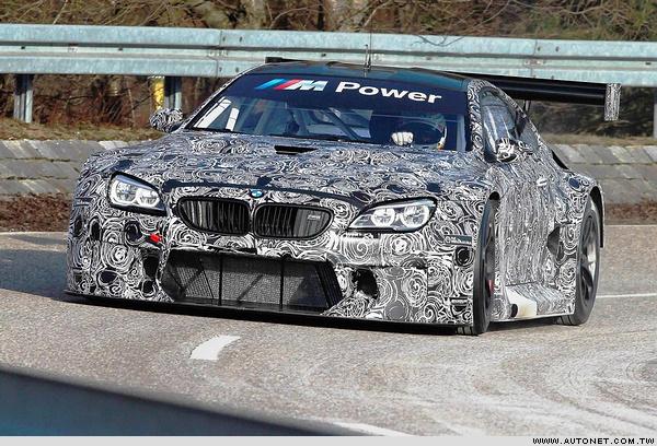 BMW M6 GT3決意不再神隱!確定九月法蘭克福車展正式發表!