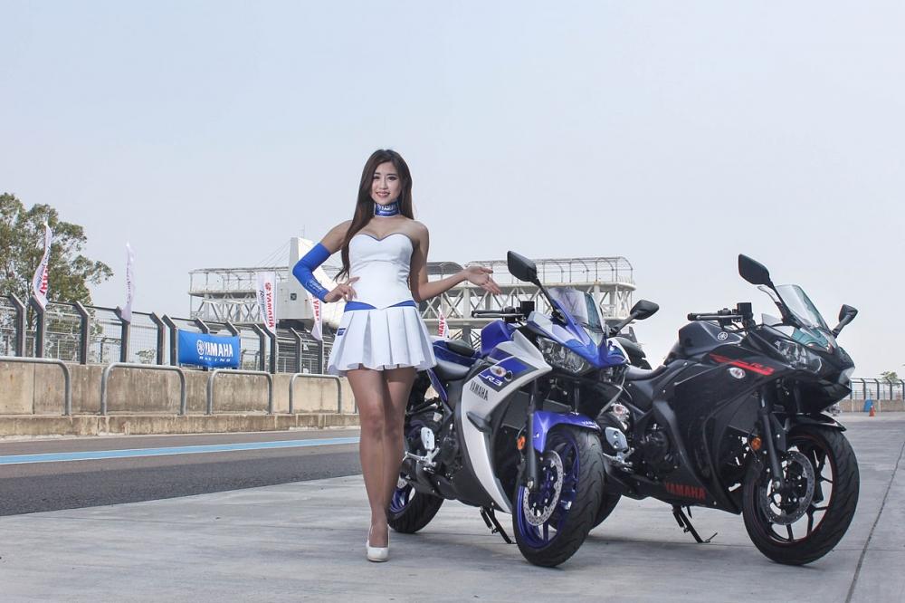 山葉機車全新引進的YZF-R3,選擇在七月正式上市前搶先於3月27日在屏東大鵬灣賽道舉行媒體發表活動,並安排賽道體驗。