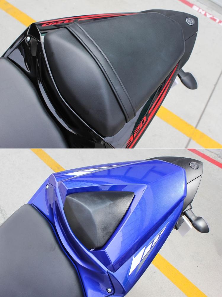 下圖的單座整流罩也為原廠提供的精品套件之一。