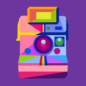 the art and watercolor group icon