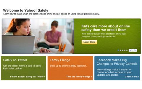 yahoo safely homepage