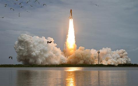 Nasa Launch Photo