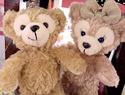 達菲熊 &雪莉梅 小吊飾