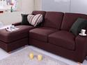 L型麻布沙發組合