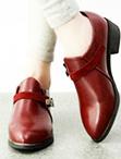 復古平底牛津靴