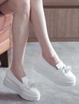 小流蘇樂福厚底鞋