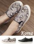 韓風蛇紋平底鞋