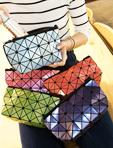 幾何菱格收納/化妝包