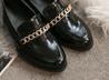 金鍊漆皮紳士鞋