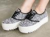 韓國小香款厚底鞋