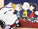 史努比星空太空大毛巾