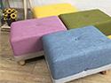 馬卡龍彩色卡樂椅凳