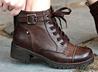 經典做舊擦色短靴