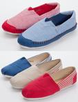 TOMS風潮流款條紋休閒鞋