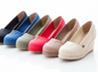 日雜帆布楔形鞋