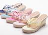 花漾楔型夾腳拖鞋