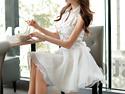 氣質白色仙女連衣裙