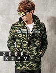 韓版軍裝迷彩風大衣