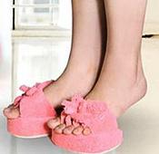 半腳五指美腿鞋