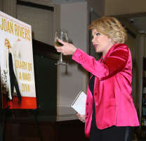 "Joan Rivers Signs Copies Of Her Book ""Diary Of A Mad Diva"""