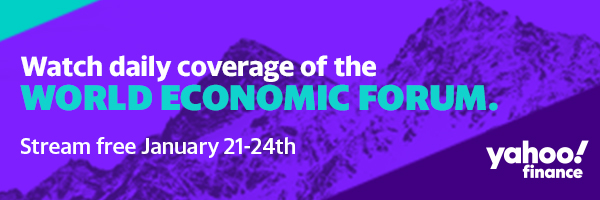 Yahoo Finance at the World Economic Forum in Davos