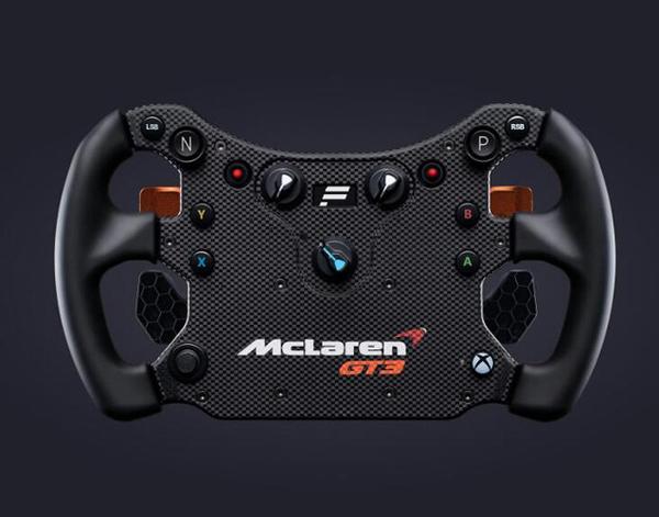 [2美國直購] fanatec 方向盤 CSL Elite Steering Wheel McLaren GT3 V2