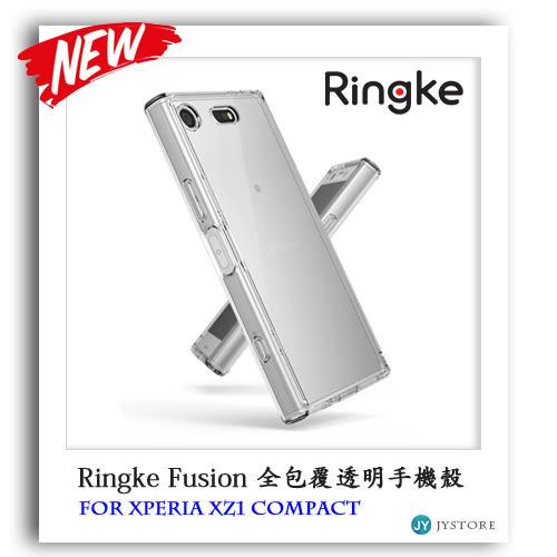 Ringke Sony XZ1 compact Fusion 全包覆透明背蓋手機殼手機殼 SPIGEN 索尼
