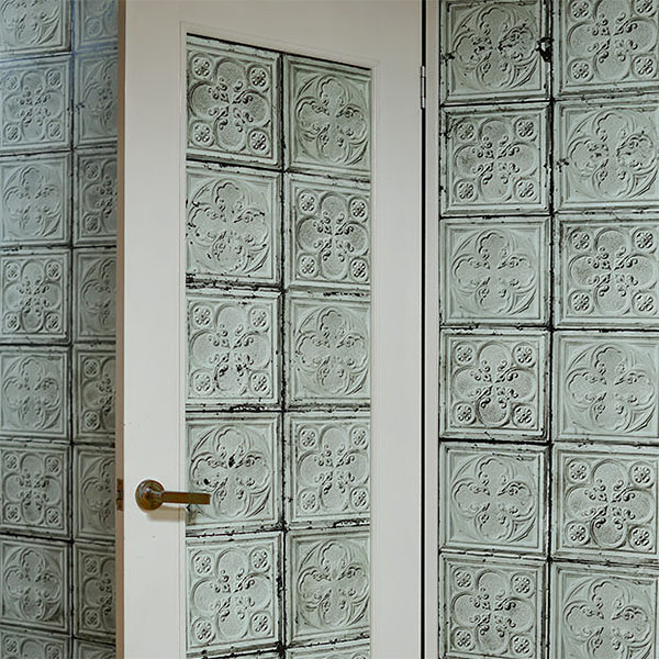 【進口牆紙】Brooklyn Tins by merci【訂貨單位48.7cm×10m/卷】荷蘭 仿真(fake) 磚紋 TIN-J5